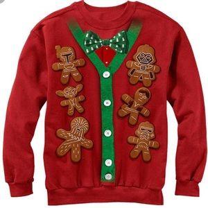 Star Wars Cookie Cardigan Christmas Sweater